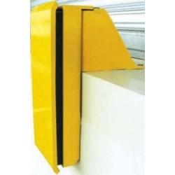 Butoir protection quai fixe 1H+1B 150 mm