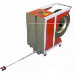 Machine à cercler livrée avec une bobine de feuillard 12 mm VERTICALE SEMI AUTOMATIQUE
