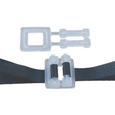 Boucle plastique 16 mm pour feuillard polypropylène largeur 15 mm carton de 1000