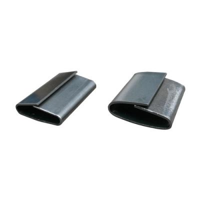 Chape acier OVERLAP largeur 19 mm longueur 45 mm carton de 1000