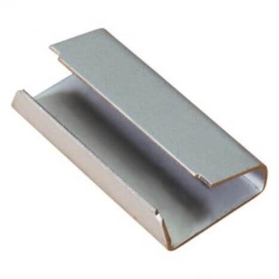 Chapes 16 mm feuillard pp 12 mm utilisation avec tendeur 5016PL16