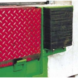 Butoir protection quai de chargement fixe à lamelles renforcées 360 mm