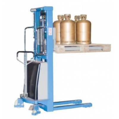 Gerbeur SEMI-electrique electrique charge utile 1000 kilos