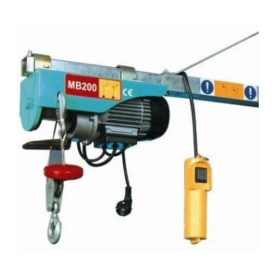 Mini treuil électrique 125/250 kg 6/12 m