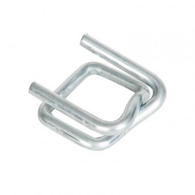 Boucle métallique type SG 19 pour feuillard textile de 19 mm carton de 1000