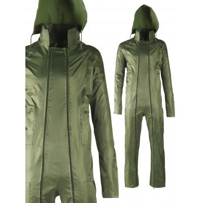 Combinaison de pluie Vert P.V.C. Polyester SINGER