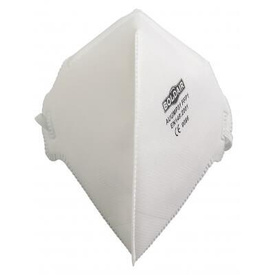 Demi-masque ffp1 nr confort  pliable, verticalement boîte de 20 pièces.