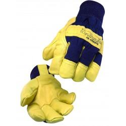 Gants protection contre le froid cuir