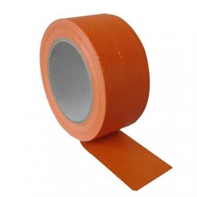 Adhésif de masquage et de protection orange en toile