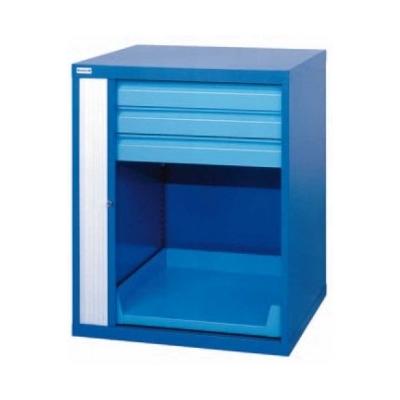 armoire m tallique rideau 800 mm basse 3 tiroirs. Black Bedroom Furniture Sets. Home Design Ideas