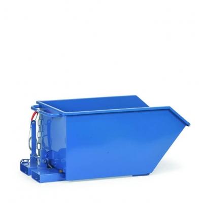 Benne basculante charge jusqu'à 1000 kg contenance jusqu'à 750 litres