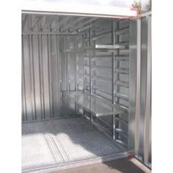 conteneur pliable etagere 2 metres