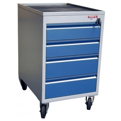 Bloc tiroirs mobile 250 kg