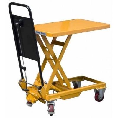 Table élévatrice manuelle 150 kg