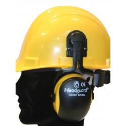 Casque anti-bruit pour casque de chantier HEADGUARD HG187 SNR : 23 dB