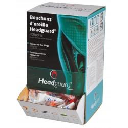 Bouchons d'oreille PU HEADGUARD HGB030 SNR 37 dB