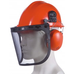 Casque forestier HEADGUARD HGCF01 orange
