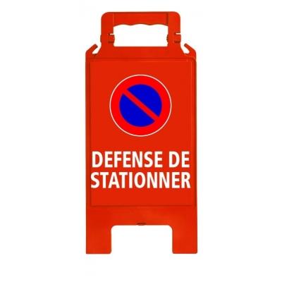 Chevalet de signalisation défense de stationner