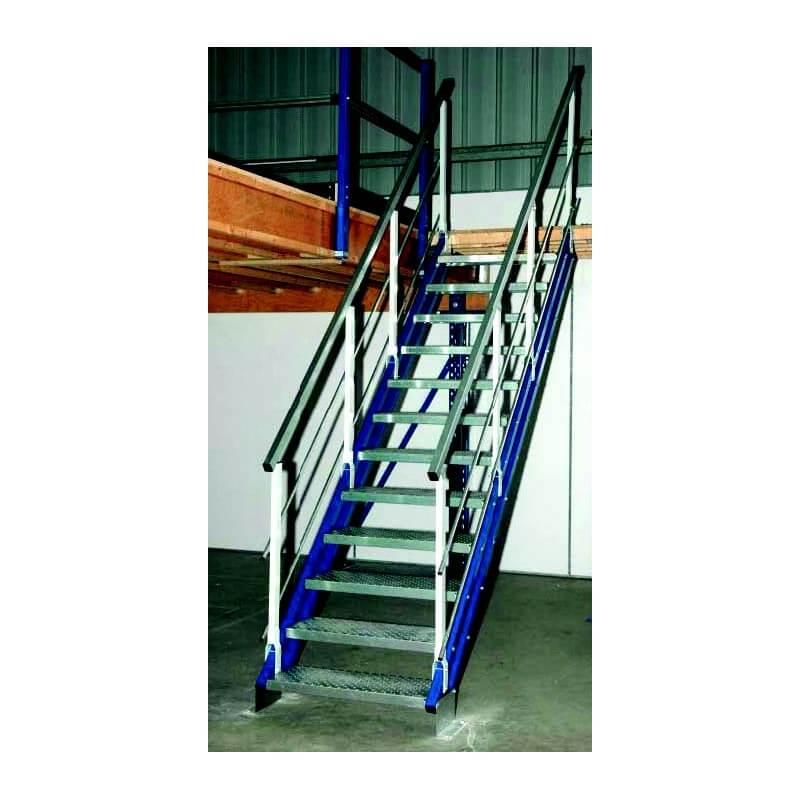 escalier industriel rampe esfr9004523. Black Bedroom Furniture Sets. Home Design Ideas