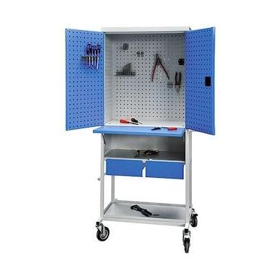 armoire tabli atelier mobile. Black Bedroom Furniture Sets. Home Design Ideas