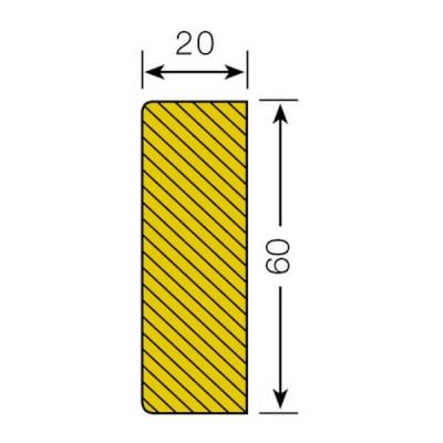 Mousse de protection surface rectangle