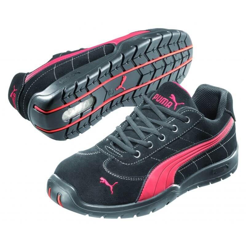 chaussure de securite femmes puma