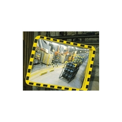 Poteau tubulaire galva Ø76 mm hauteur 3000 mm pour miroir gamme Eucryl