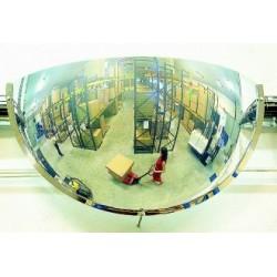Miroir hémisphérique de surveillance