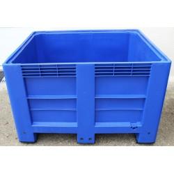 Caisse palette bleue 543 litres