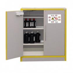 Armoire comptoir multirisque 30 minutes équipée 3 compartiments 30 mn