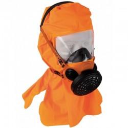 Masque d'évacuation DM761C avec cagoule de protection