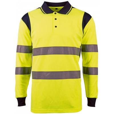 Polo jaune haute-visibilité PUNTA