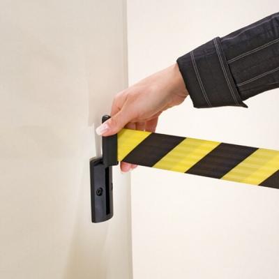 Barriere sécurité sangle murale Morion magnétique