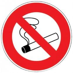 Panneau de signalisation Morion Défense de fumer