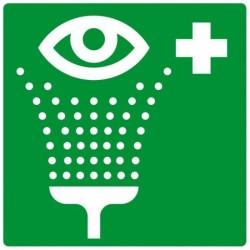 Panneau Rinçage des yeux