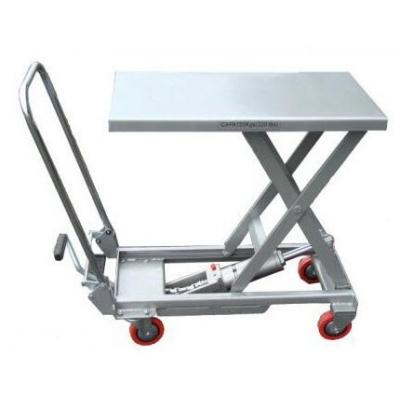 Table élévatrice aluminium 100 kg 450x700 mm