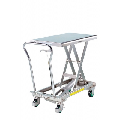 Table élévatrice inox BISHAMON 200 kg