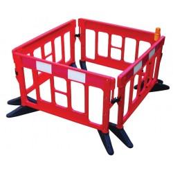 Barriere sécurité mobile empilable 2 mètres