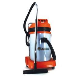 Aspirateur professionnel eau et poussières 3 moteurs 77 L