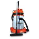 Aspirateur professionnel eau et poussières 2 moteurs 77 L