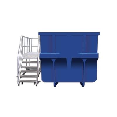 Plate-forme d'accès bennes à déchets 3m