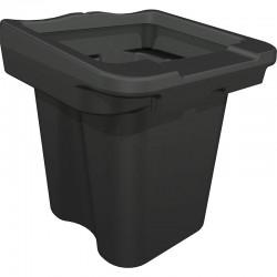 Distributeur bac 100 litres pour Palette de rétention 2 conteneurs 1100L avec caillebotis