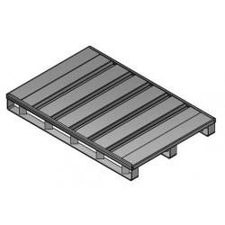 Palette métallique norme Europe 120x80cm