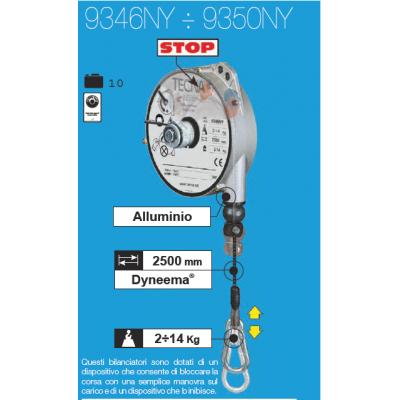 Équilibreur à câble NYLON de 2 à 14 kg avec frein