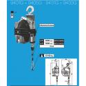 Équilibreur à câble INOX de 15 à 60 kg
