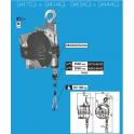 Équilibreur à câble INOX de 60 à 100 kg