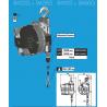 Équilibreur à câble INOX pour charges de 100 à 180 kg suivant modeles