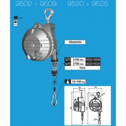 Équilibreur de charge câble INOX de 20 à 100 kg suivant modeles