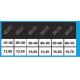 Équilibreur à câble INOX de 12 à 70 kg