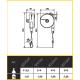 Equilibreur de charge ATEX 1 à 8 kg